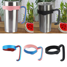 Hot Sale 20 oz Man Woman Plastic Anti-slip Handle For YETI Stainless Steel Insulated Tumbler Mug Handle Outdoor Tool(China (Mainland))