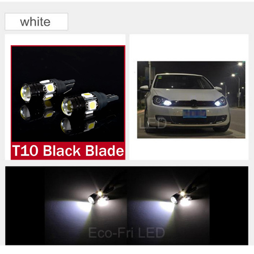 2x high power white ice blue W5W T10 led by the projector lens cars, Styling light source, led Parking for Ford Focus for Cruze(China (Mainland))