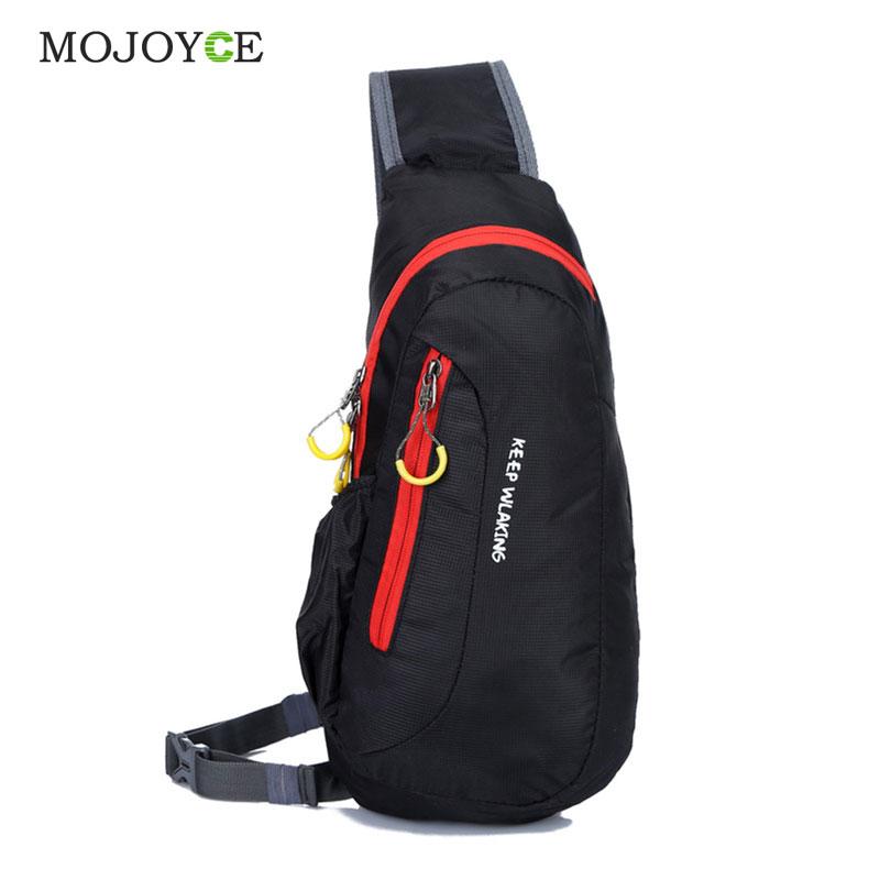 MOJOYCE Nylon Bag Men Waterproof Sport Chest Bags Casual Running Outdoor Diagonal Package Unisex Bolsa Tranvel Borse 1STL(China (Mainland))
