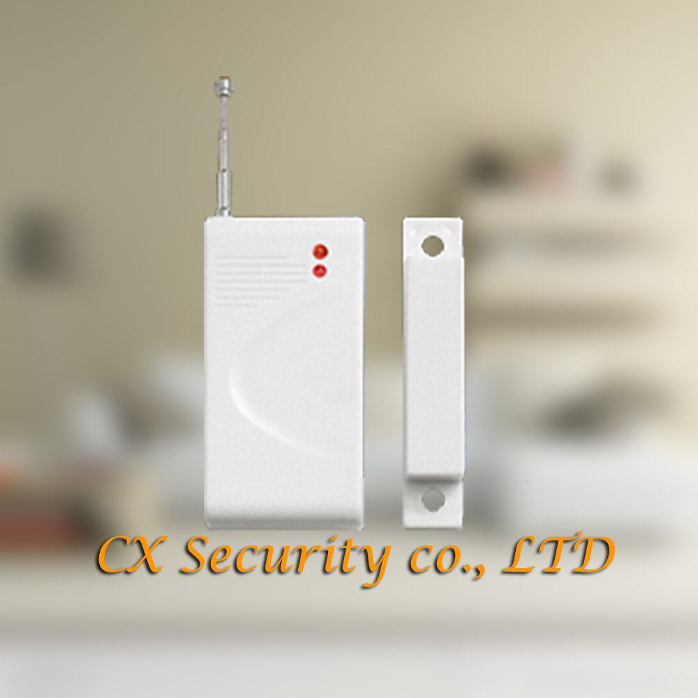 Free Shipping New Wireless Door Sensor Window Sensor For Home Alarm System 433MHz Sale Promotion Popular and Cheap in the market(China (Mainland))