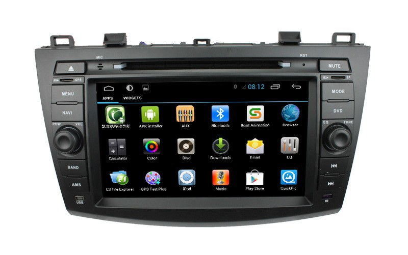 For Dual Core Car radio gps for Mazda 3 with radio/RDS/BT/Ipod list/USB/SD/3G/WIFI/SWC/Optional build-in ISDB-T/DVB-T(China (Mainland))