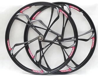 hot sale ruedas carbono magnesium alloy wheels ouka luo one bearing round group 4 mountain bike bicycle wheel disc brakes(China (Mainland))