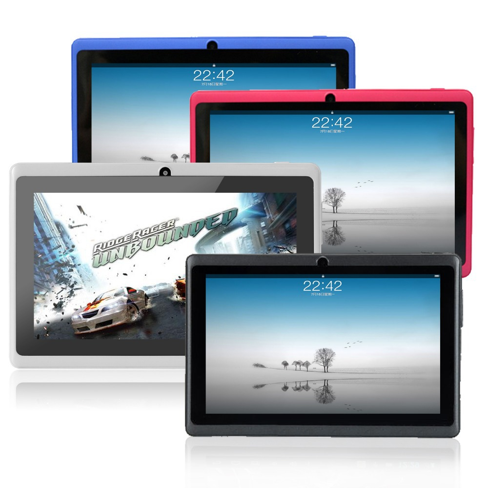 HOT! 7 inch tablet pc,Android Yuntab tablet Q88 Allwinner A33 512MB RAM+8GB ROM, Wifi Dual Camera HD Screen with OTG,Low Price!!(China (Mainland))