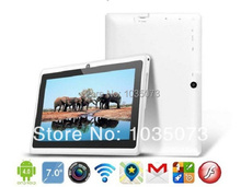 7 inch dual core android tablet pc Q88 pro Allwinner A23 android 4.4 dual camera WIFI OTG 1pcs cheap Tablet with free shipping(China (Mainland))