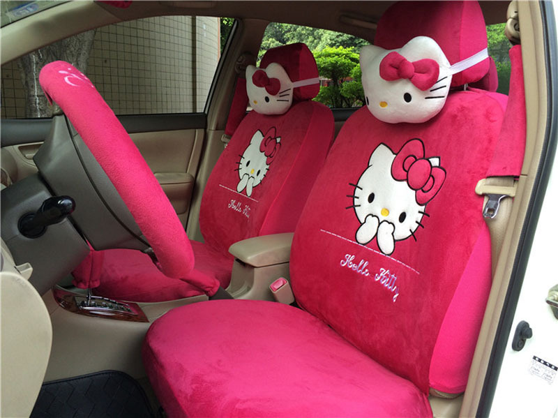 Image Gallery Hello Kitty Car Upholstery