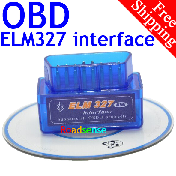 BrandNew Excellent Quality 3 Years Warranty Super Mini ELM327 Bluetooth OBD2 OBD II Works On Android Torque ELM327 Free Shipping(China (Mainland))