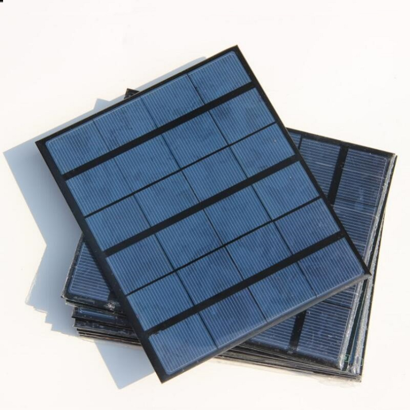 High Quality 3.5W 6V Min Solar Cell Diy Solar Panel System Module Solar Charger For 3.7V Battery Education Kits 165*135*3MM(China (Mainland))