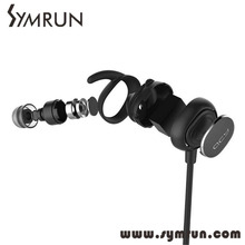 Symrun Wireless Earphone Bluetooth 4.1 Stereo Sport Headset Studio Microphone Earbuds Qcy 19