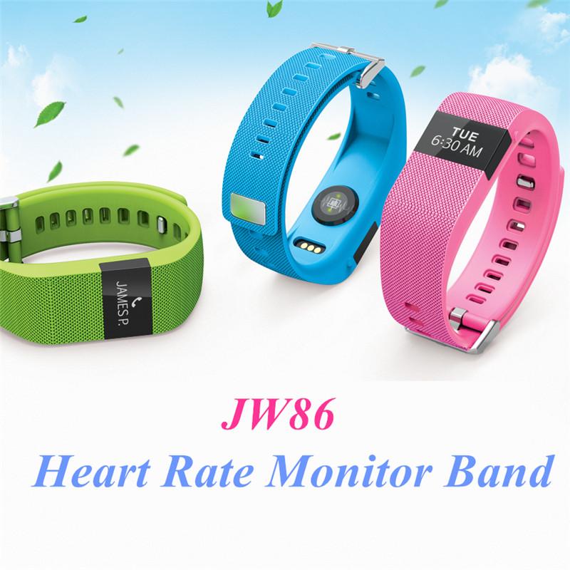 Здесь можно купить  Updaged Dynamic Heart Rate Monitor Smart Band OLED Smart Bracelet Passdometer Calories Fitness Smartwatch SMS Remind Wristband  Бытовая электроника