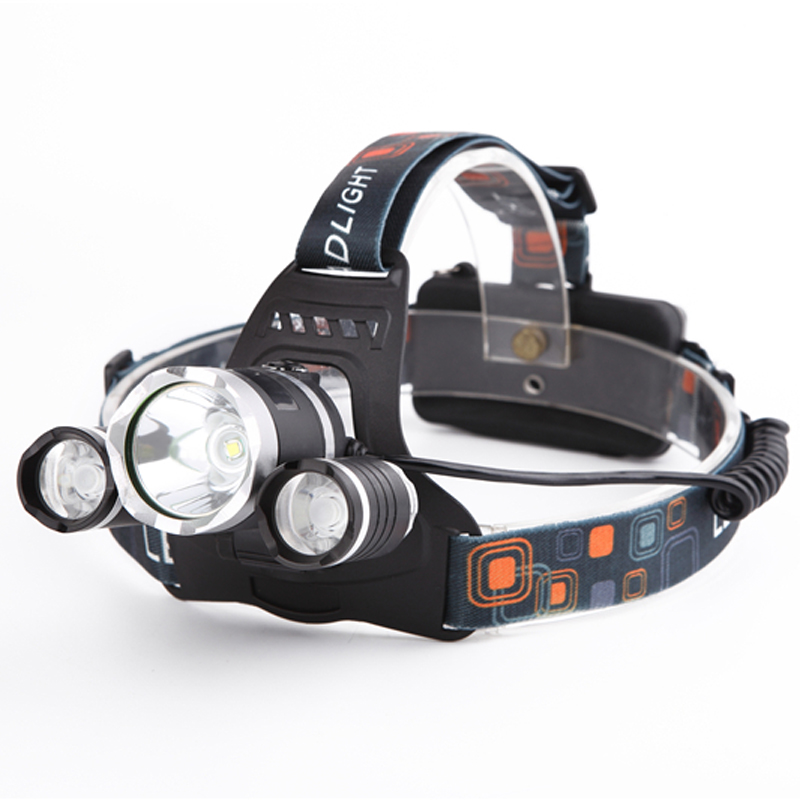 5000 Lumens CREE XML T6 4 Modes LED Rechargeable Head Lamp Led Headlight Headlamp Hunting Flash Light Lamps Use 18650<br><br>Aliexpress