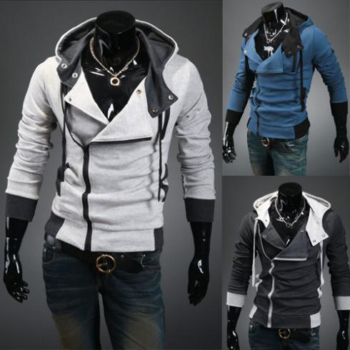 [M-78]Free delivery 2013 new styles Men's Autumn winter cardigan Korean men's Hoodie Jacket - Colorful Apparel store