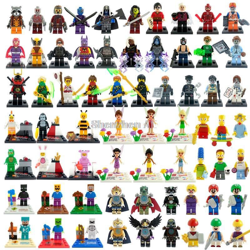 Super Hero TMNT Friends City Minifigures Building Blocks Sets Model Bricks Toys Decool Shen Yuan LELE Lego Compatible(China (Mainland))