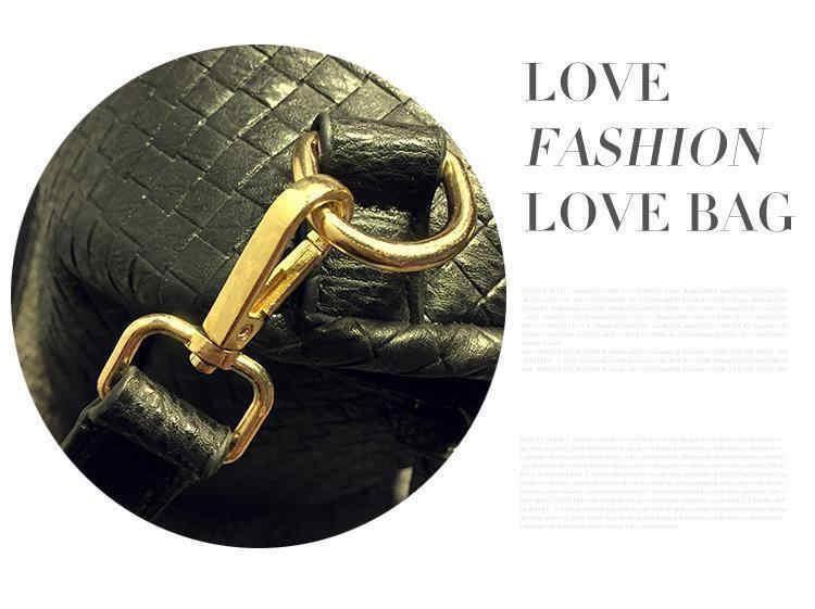 2016 Autumn And Winter luxury handbags women bags designer Retro Weave Knitting Casual Tote Zipper High Capacity Shoulder Bag A4