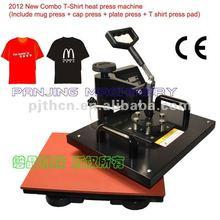 t-shirt heat press machine,Sublimation 8 in 1combo machine