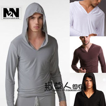 tracksuit men 2015  N2N comfort underwear for men Men's long sleeve sports yoga clothes dance practice clothes pajamas(China (Mainland))