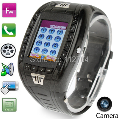 AOKE AK11 1.33'' Touch Screen Smart Watch Phone with SIM Card Slot + Bluetooth + Camera + Digit Dialing Keyboard + SOS(China (Mainland))