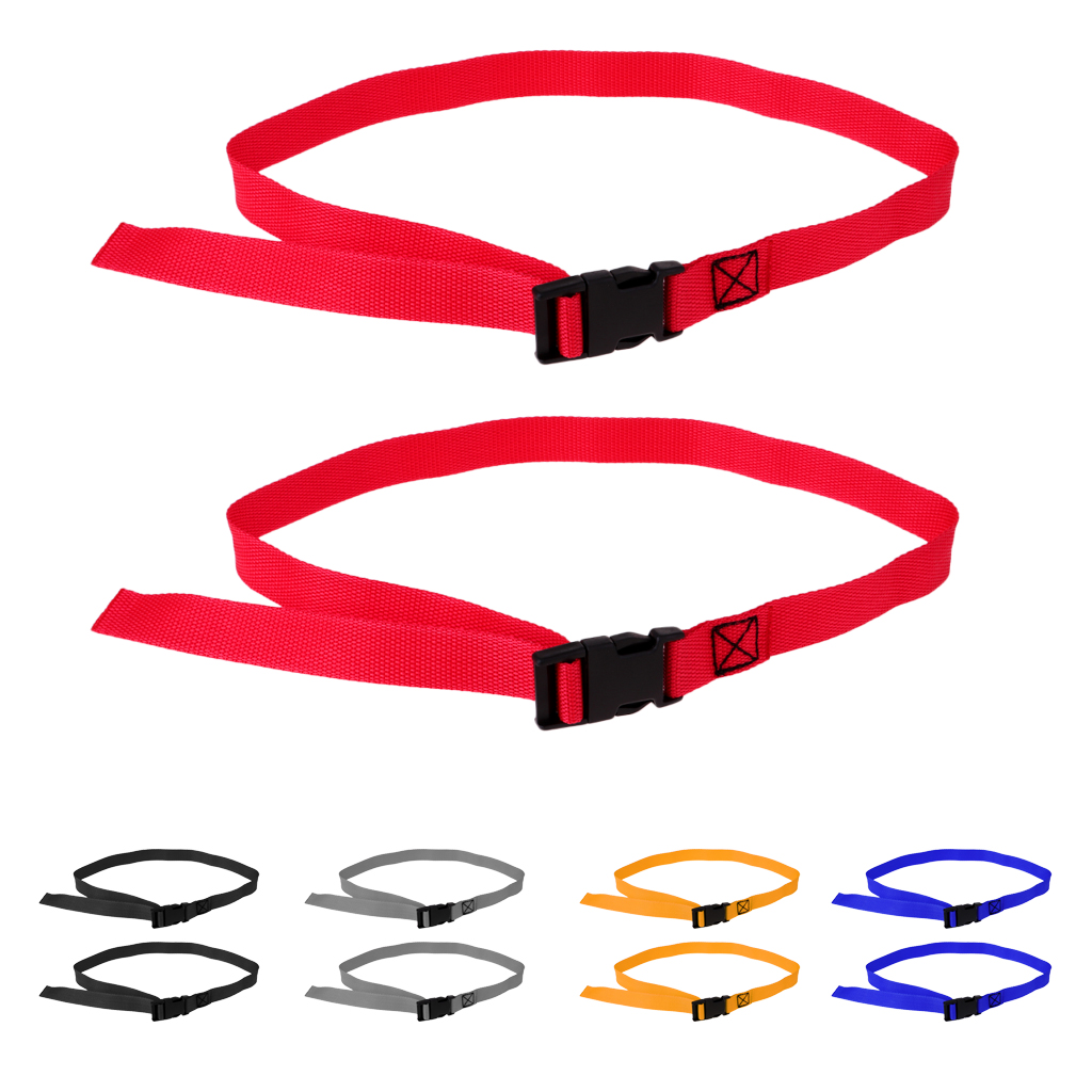 2pcs Luggage Suitcase Packing Strap Belt Adjustable Quick Release Buckle 39.4 x 1 inch