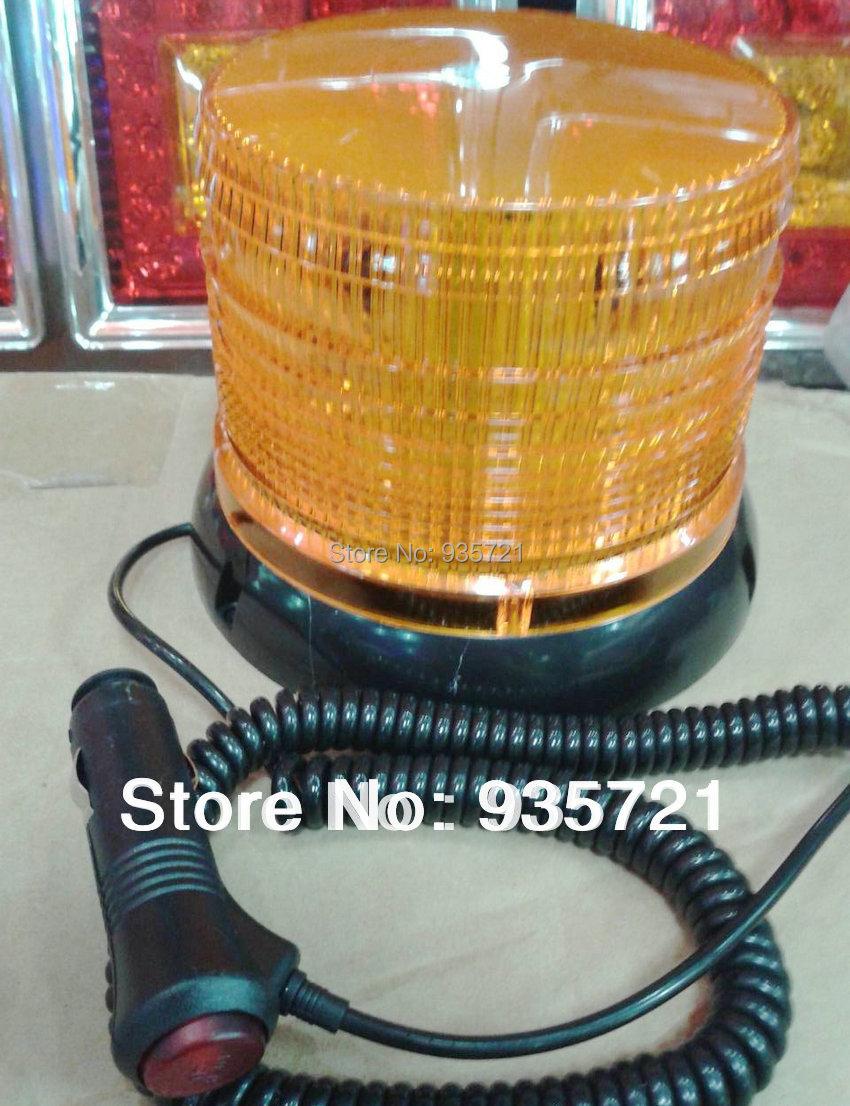 DC24V High power Magnetic Mounted Strobe Warning light Beacon Emergency lights(China (Mainland))