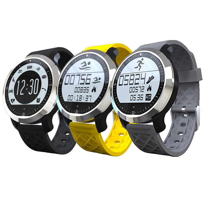 Swimming Waterproof Bluetooth Smartwatch F69 Sport Smart Watch For iPhone Android Phones Heart Rate Monitor Sleep Tracker(China (Mainland))