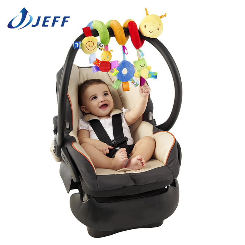 2015 plush baby toy educational mobile rattles toys kids colorful caterpillar stroller hanging - Jeff Carl Toy Exclusive agency store