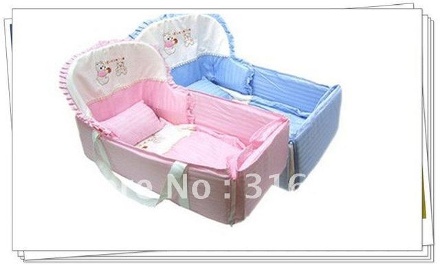 PROMOTION 100% cotton 1pc set baby crib bedding Set environment-friendly printing EMS Free Shipping