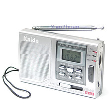 AM FM SW 10 Band Shortwave Radio Receiver Alarm Clock N
