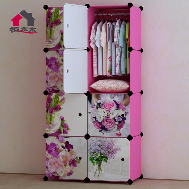 Diy Kids Wardrobe: Mrs. Combination Cabinet Diy Children Simple Wardrobe