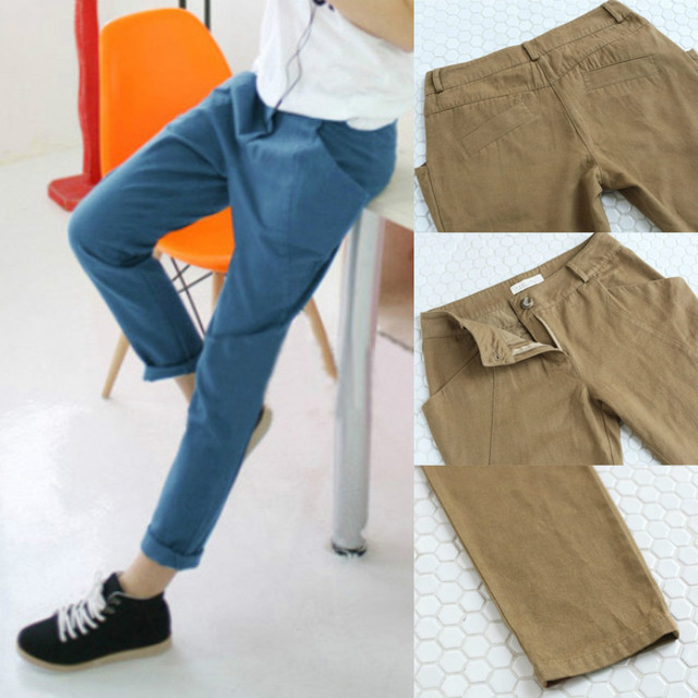 Harem Pants Women 2013, Plus Size Wide Leg Casual Pants, Sport Of Straight Of Trousers Female, Women's Army Cargo Pants