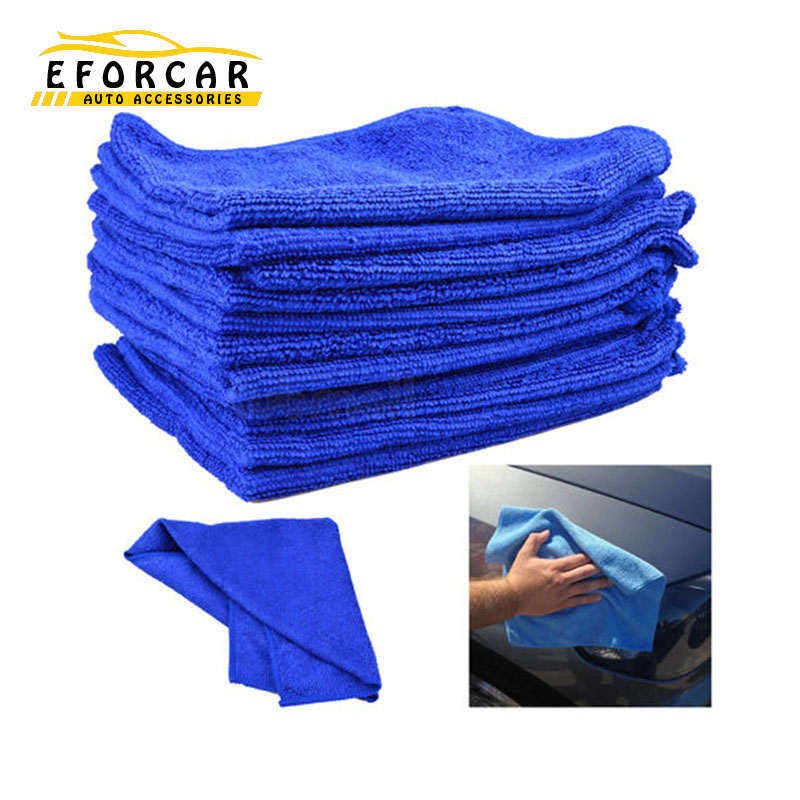3X Soft Microfiber Car Cleaning Cloth Wash Towel Products Dust Tool Car Washer Auto Supplies Car Accessories Freeshipping EA1038(China (Mainland))