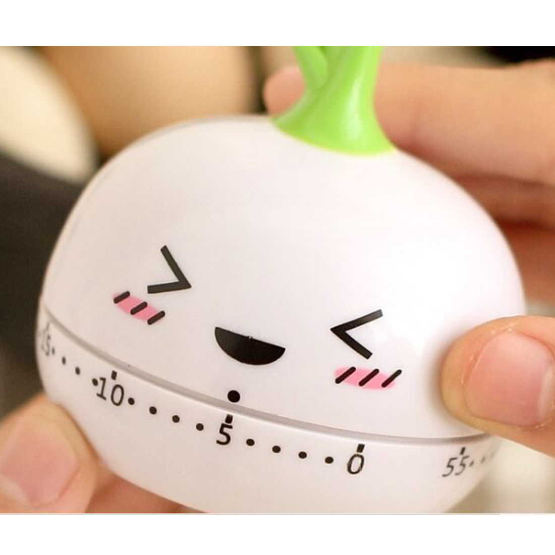 Mechanical Timer Kitchen Cooking Mechanical Cute Kitchen Timers Kitchen Clock Timer Random Color(China (Mainland))