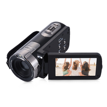 Buy HDV-302P Full HD 1080P Digital Video Camera 3.0 Inch LCD Screen 24MP 16X Digital Zoom Anti-shake DV Camera Camcorder for $47.42 in AliExpress store