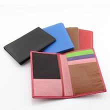 Buy Passport Cover Travel Wallet Passport Holder Organizer Cover Unisex Passport Women Genuine Leather Card Holder ID Men Trip Purse for $12.98 in AliExpress store