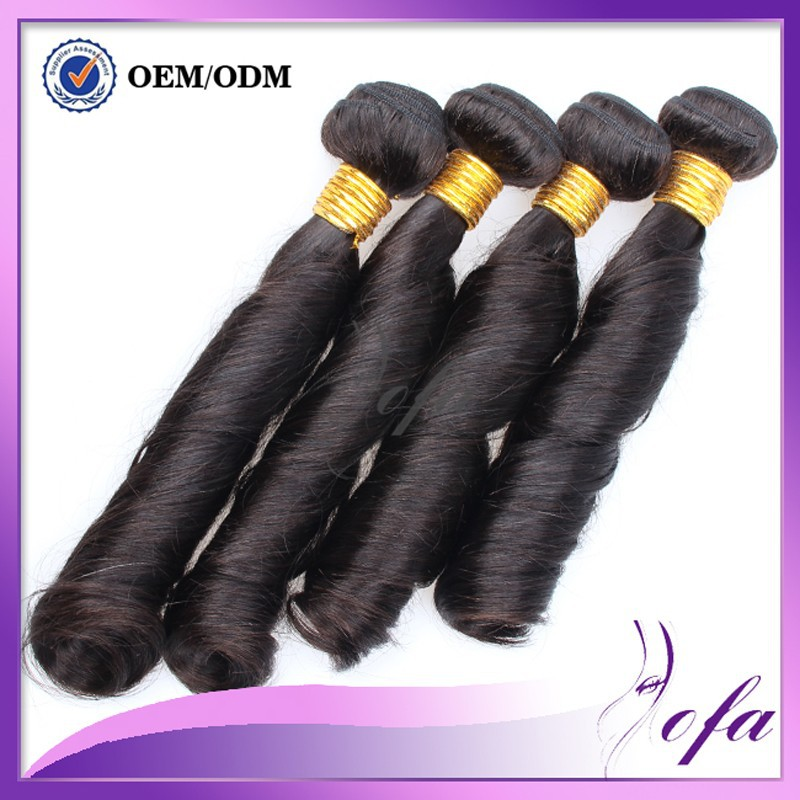 7A Unprocessed Raw Indian Hair Spring Curl Virgin Hair Wet And Wavy 100% Natural Human Hair Weave Extentions  India