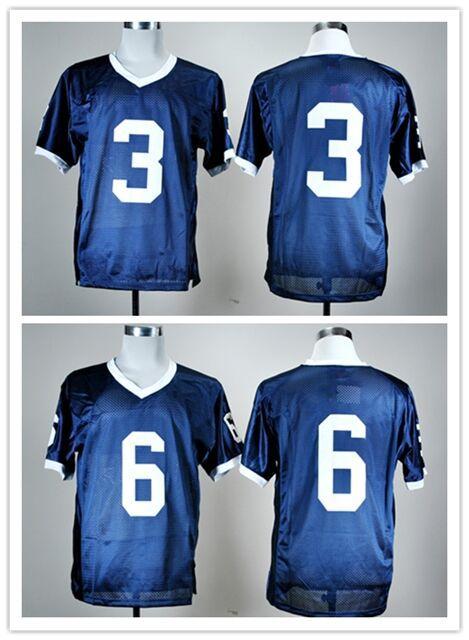 6 Penn State jersey Custom 6 Penn State jersey Penn State Nittany Lions jersey cheap stitched college football jerseys M-XXXL(China (Mainland))