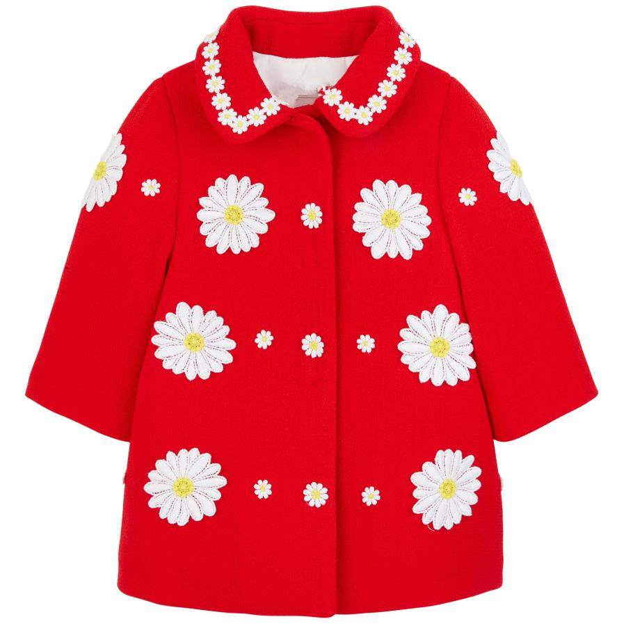 2016 New Season Girls Red Coat Autumn & Winter Kids Jacket Children Design Clothes(China (Mainland))