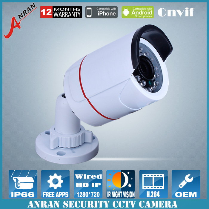 Video Surveillance HD Mini IP Camera Outdoor 720P ONVIF Waterpfoof CCTV Camera P2P IR Night Vision IP Cam Home Security Camera(China (Mainland))