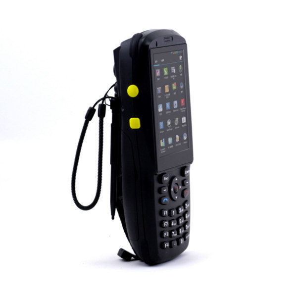 Rugged android mobile data terminal wireless,handheld pda with NFC and 1D laser barcode scanner(PDA3501)(China (Mainland))