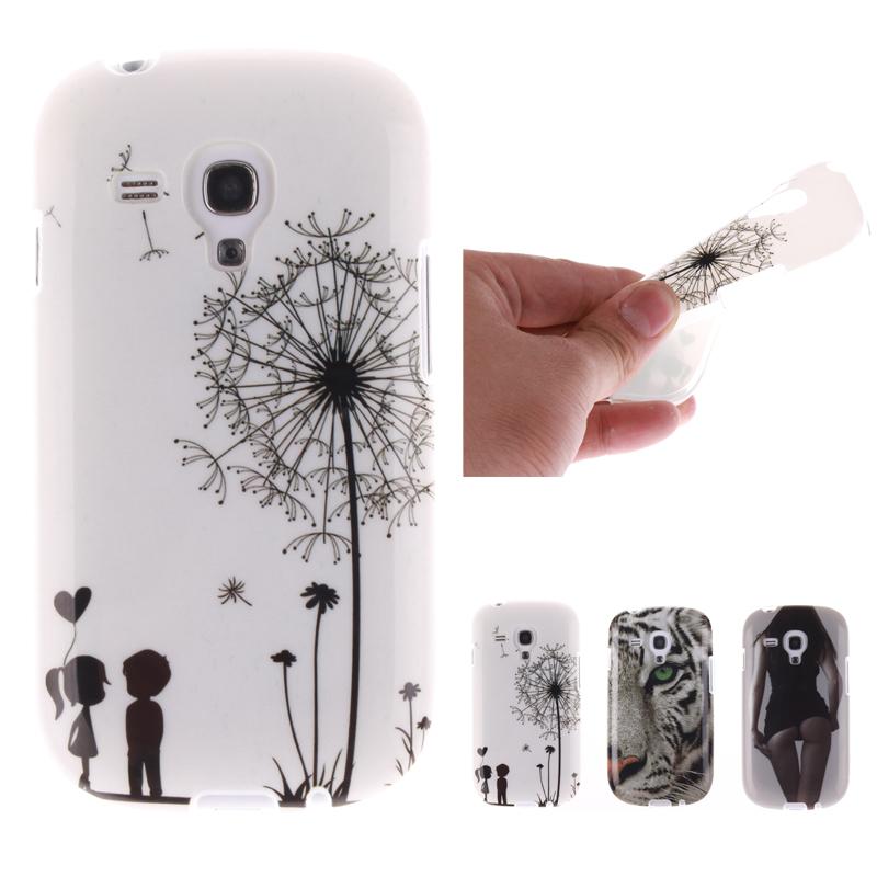 Silicone Case for coque Samsung S3 mini Case Silicone Cover for fundas Samsung Galaxy S3 mini Case TPU S3 mini i8190 8190 4 inch(China (Mainland))