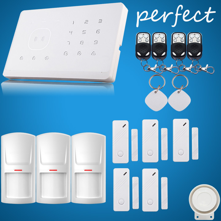 Wireless Home Security System 12-piece Plus Package by professional security store<br><br>Aliexpress