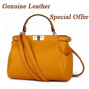 [ 10 цвета ] конструктор из натуральной кожи женщины кожаные сумки бренд женская сумка сумки черный крючки Bolsas Femininas RL146