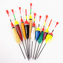 Hot New 10PCS/Lot Mix Size Color Ice Fishing Float Bobber Set Buoy Boia Floats For Carp Fishing Tackle Accessories(China (Mainland))