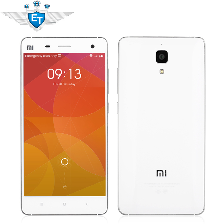 """New Arrival Xiaomi Mi4 M4 Mi 4 Snapdragon 801 Quad Core 5"""" Android4.4 Cell Phones 3GB RAM 13MP Play Store GPS WCDMA 4G LTE(China (Mainland))"""