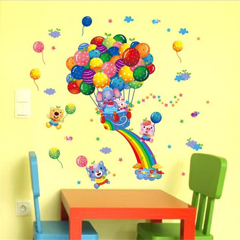 Acquista all 39 ingrosso online arcobaleno decorazione della for Decorazione stanza romantica