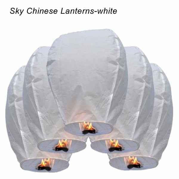 Paper Lantern Aesta White Sky Fire Chinese Lanterns Flying Paper Party Outdoor Flying Fire Lamps Festa ChinesePaper Lamp(China (Mainland))