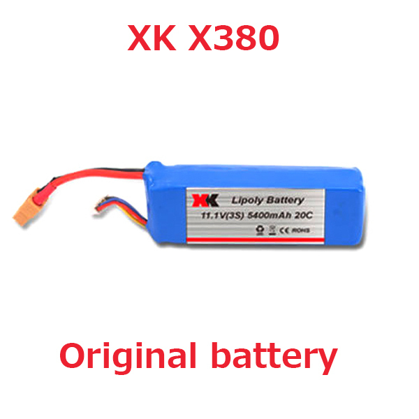 Original battery for XK X380 X380-A X380-B X380-C 11.1V 5400mAh Lipo Battery Free shipping<br><br>Aliexpress