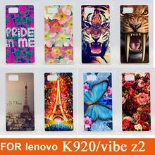 Buy 14 Patterns colored case Lenovo Vibe Z2 Pro K920 Cover / fashion 3d painted Case Lenovo Vibe Z2 Pro K920 for $1.21 in AliExpress store