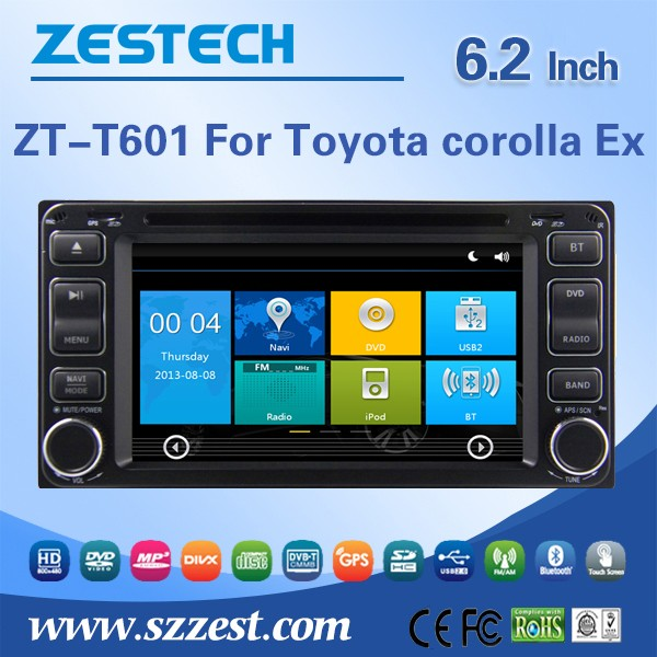 6.2inch car radio with sim card car cd player for Toyota Sienta car audio with GPS, Radio, BT, SWC, DTV, ATV, 3G, Wifi, DVR(China (Mainland))