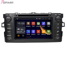 Free Shipping Quad Core Android 5.1 Car Radio For TOYOTA AURIS/COROLLA HATCHBACK/COROLLA 2012- With Wifi BT GPS Map16 GB Flash(China (Mainland))