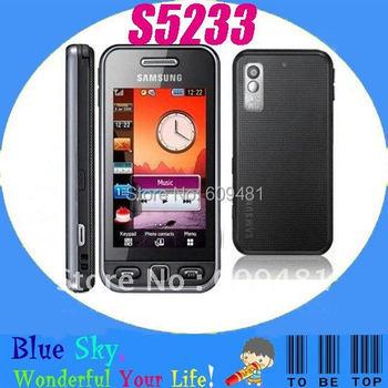 Samsung S5233 Refurbished original mobile phone 3.15MP Camerea Bluetooth MP3 MP4 Player