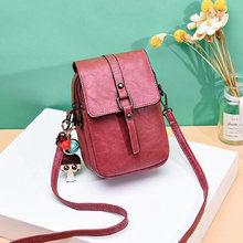 Reprcla Kecil Baru Tas Bahu Tas Kasual Tas Selempang untuk Wanita Telepon Gadis Saku Dompet Mini Messenger Bags(China)